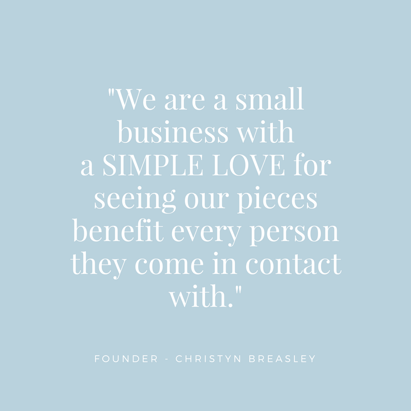 We are a small Sydney business with a simple love for our customers