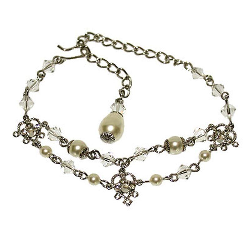 'Natalie' Bracelet & Earring Set (Silver, Gold, Rose Gold)
