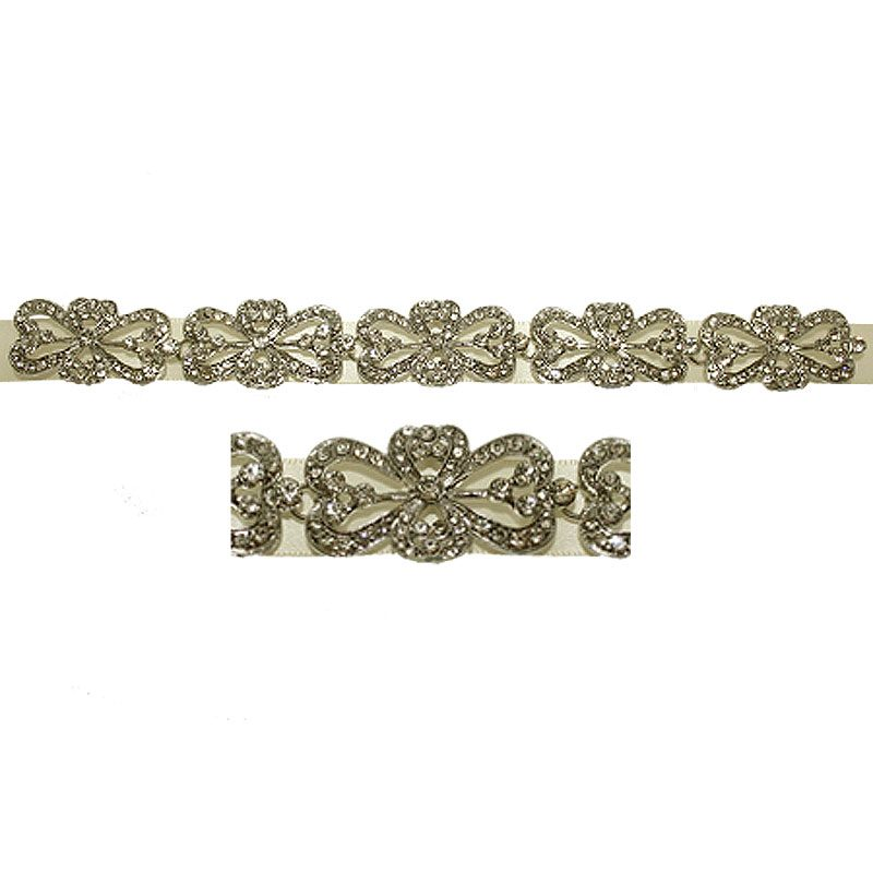 Bridal Ribbon Headband/Belt - GL67WLD