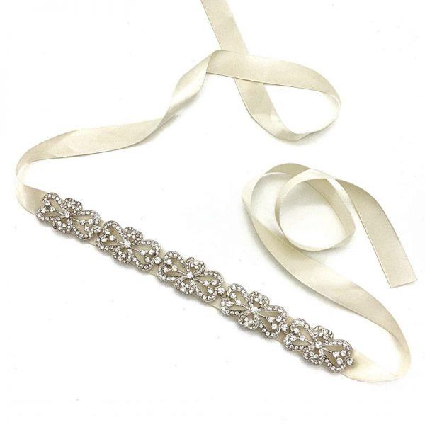 Silver Diamante headband