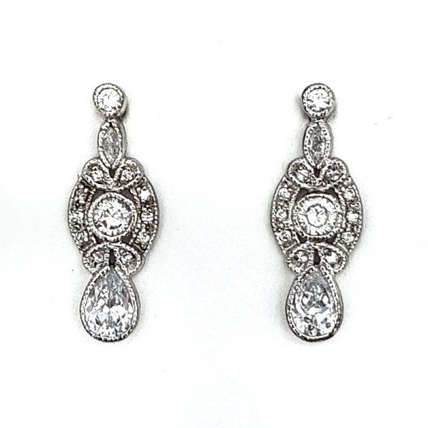small drop earrings