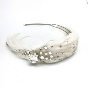 Vintage Feathered Headband