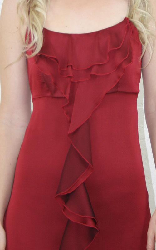 Frilly Chiffon Cocktail Dress - MG1421