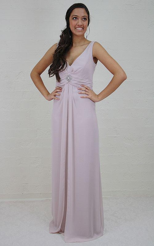 Long Chiffon Evening Dress - MG1441