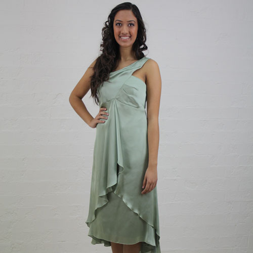 Single Strap Cocktail Dress - MG1446