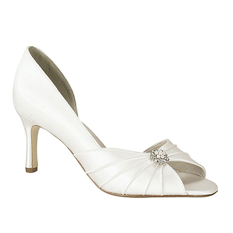 Silk Bridal Shoe - 'Melissa'