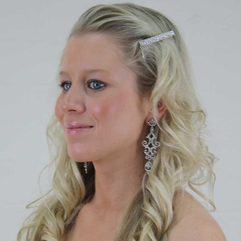 Chandelier Earrings (Silver) - OE4934WCH