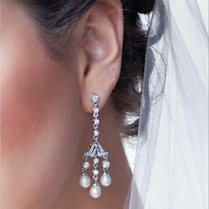 Pearl Earrings - TIF96WLD