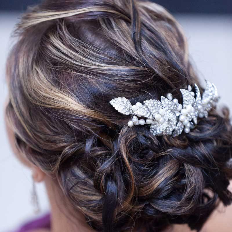 Pearl Vintage Hair Comb - VIN47WLD