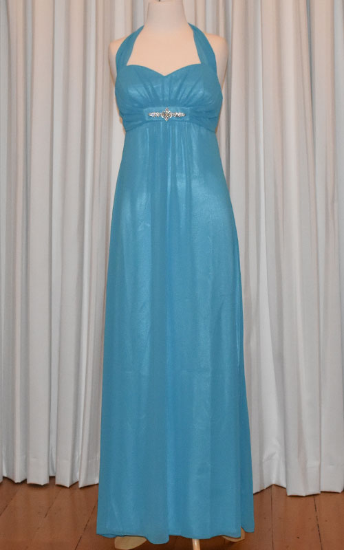 Gorgeous Turquoise Evening Dress - MG1395