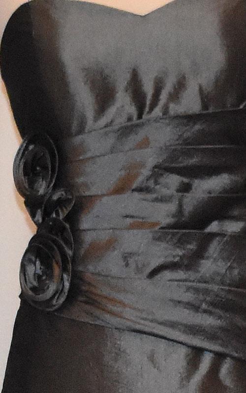 Long Strapless Evening Dress - MG1459