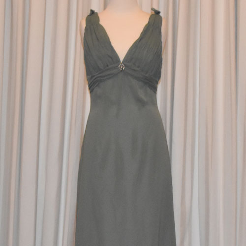 Sage Evening Dress - TL1005