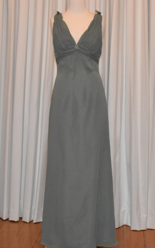 sage bridesmaid dress