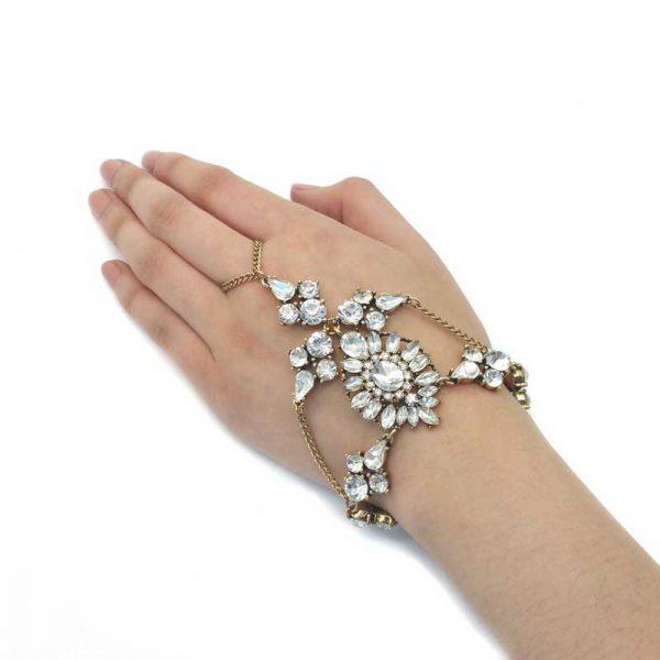 Antique Gold Slave Bracelet - CHFC0101