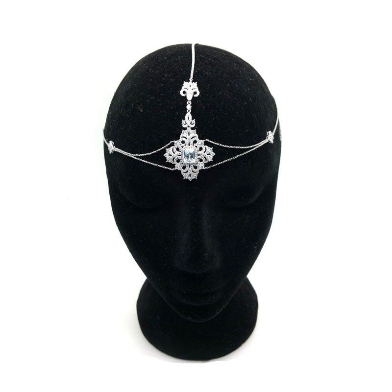 Silver Bohemian Headpiece - CHHB0802