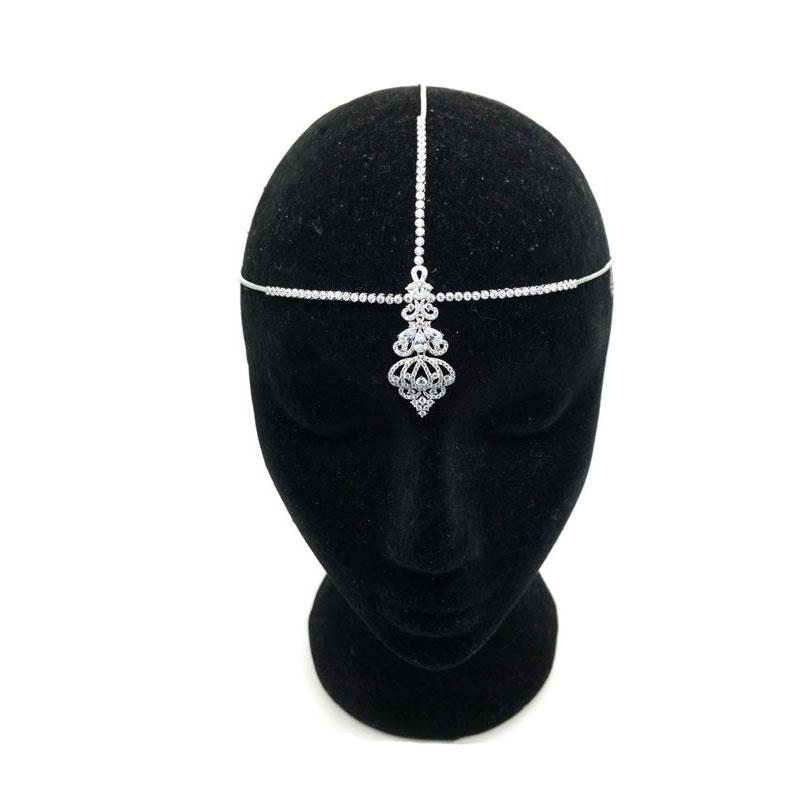 Silver Bohemian Headpiece - CHHB0801a