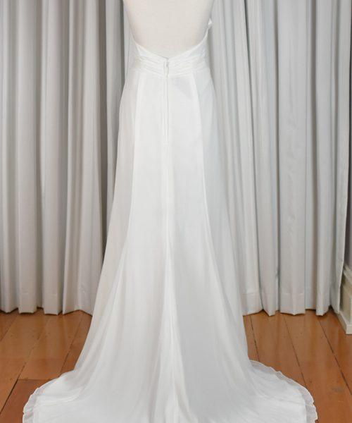 Ivory halter bridal gown