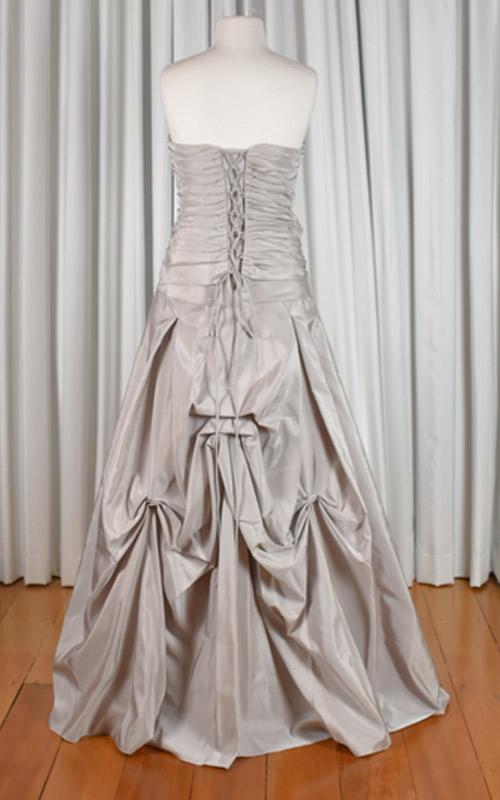 Strapless Taffeta Wedding Dress - MG2207 - Sz 12