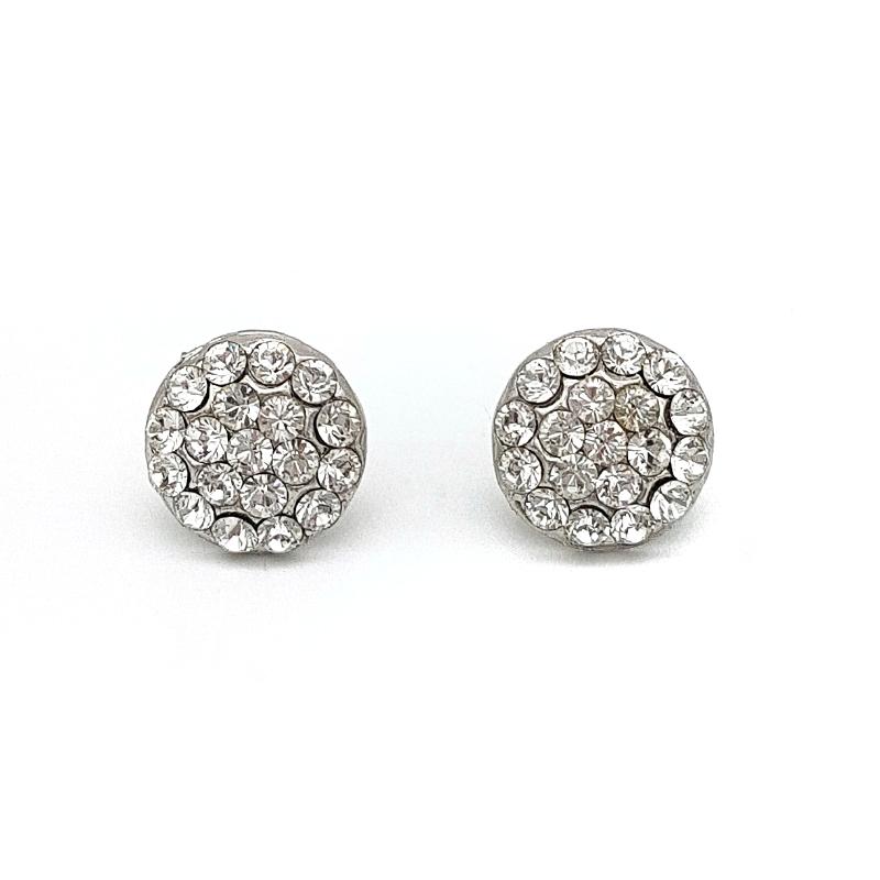 Swarovski Bridal Jewellery Earrings & Bracelet Set - LEXIset (Silver/Gold/Rose Gold)