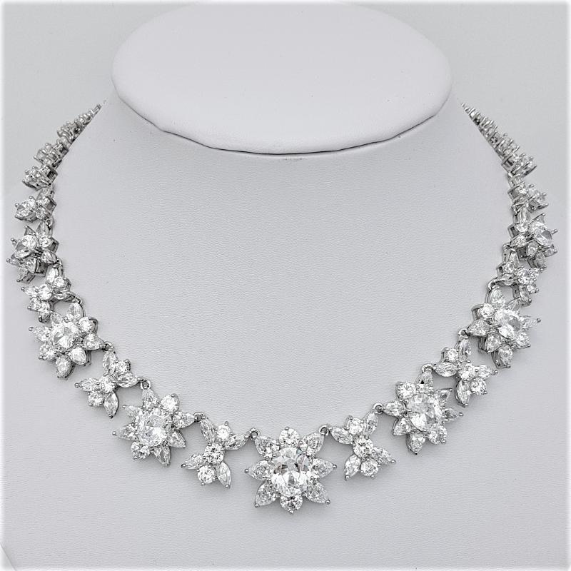 short bold bridal necklace