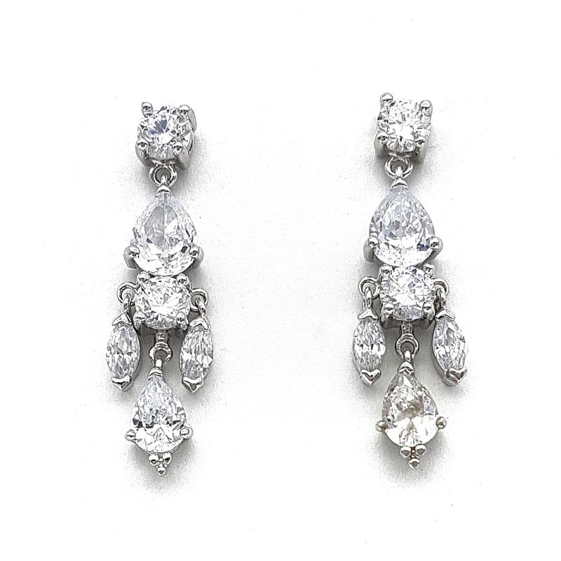 Clear Earrings - TIF65WLD