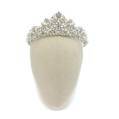 Pearl Bridal Crown - Torrie