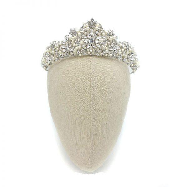 Pearl Bridal Crown - Torrie