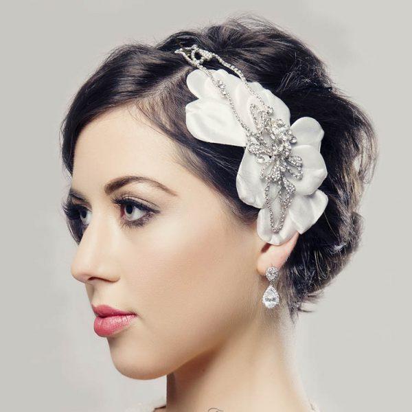 Silver drop earrings - CHBAE0077