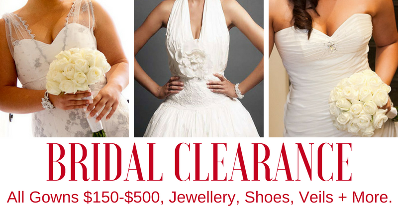 bridal clearance