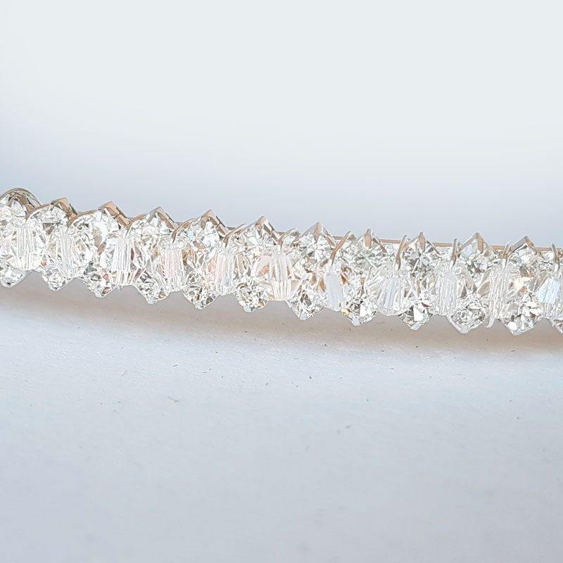 crystal and diamante wedding stefana - Arianna