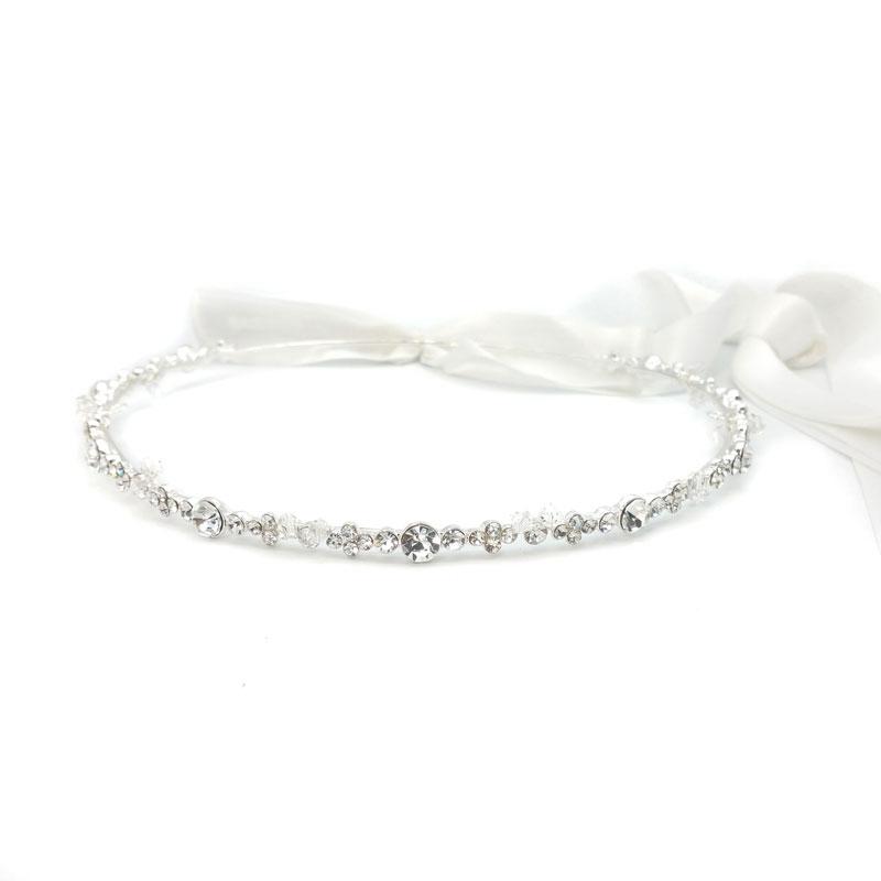 Wedding stefana - silver - Athana