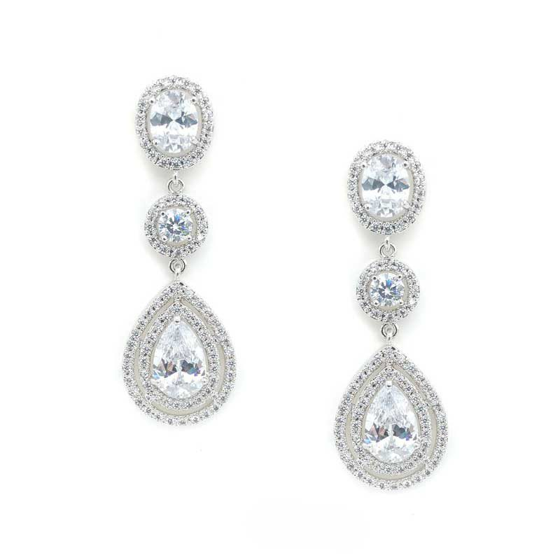 long drop earrings - Letitia