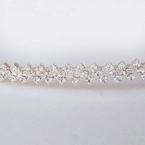 silver wedding crowns - diamante stefana - Cherish