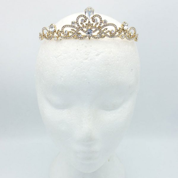 gold crown - preciosa crystals