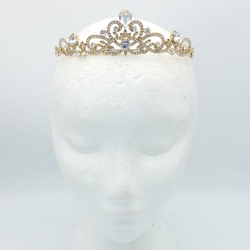 gold crown - preciosa crystals