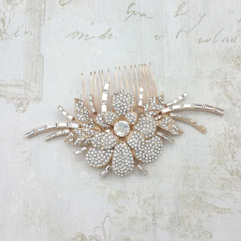 Rose Gold Cary Hair Comb