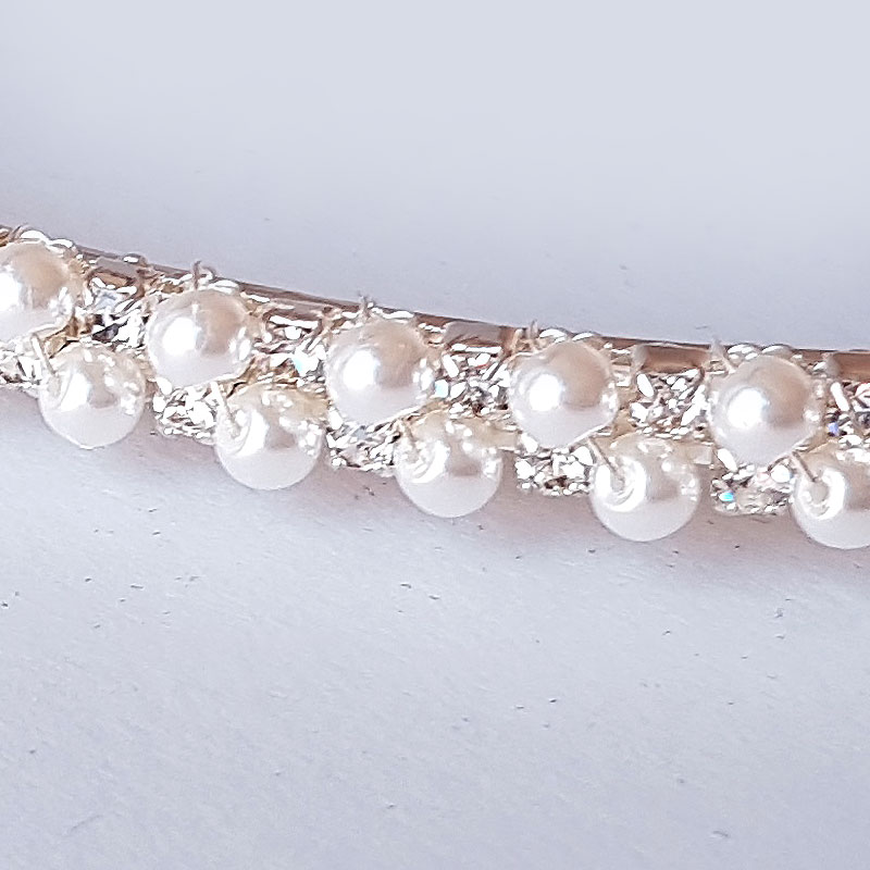 Wedding crowns stunning glam couture stefana wedding crowns pearl wedding stefanas unity junglespirit Images