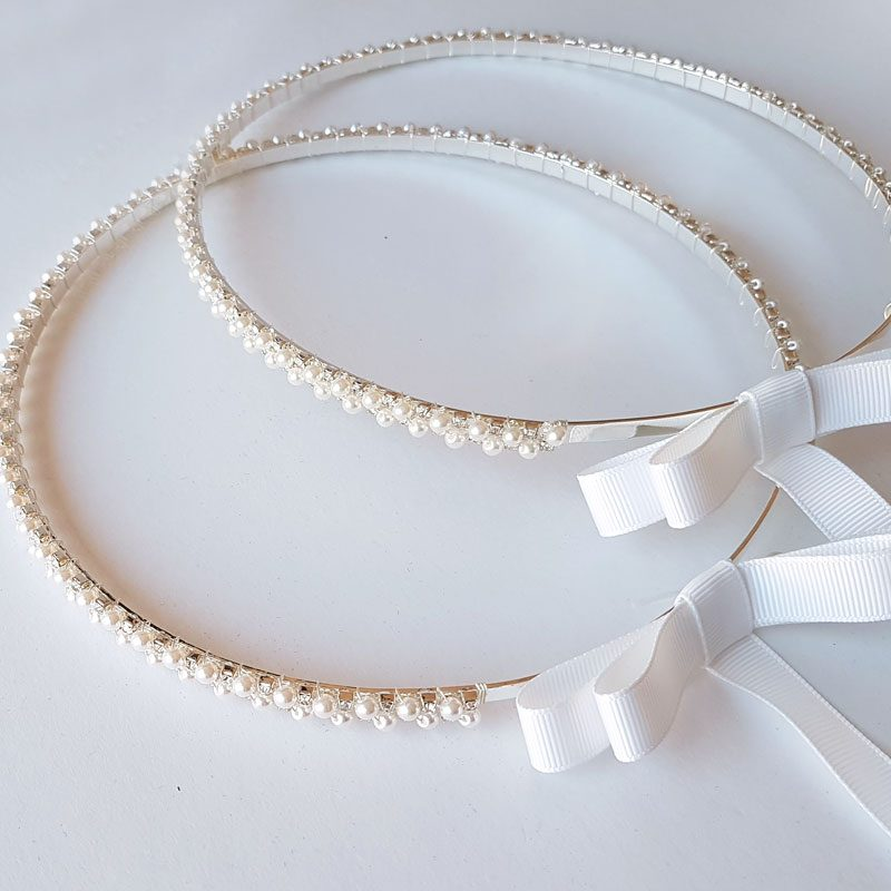 pearl wedding crowns - unity