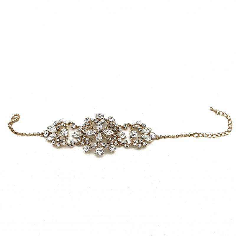 Gold Detailed BRidal Bracelet