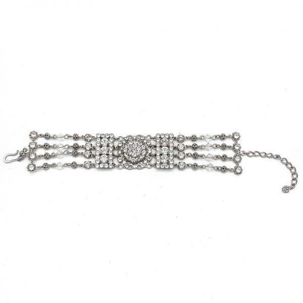 Swarovski Crystal Wedding Bracelet
