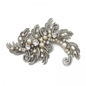 Fresh Water Pearl Bridal Hair Comb