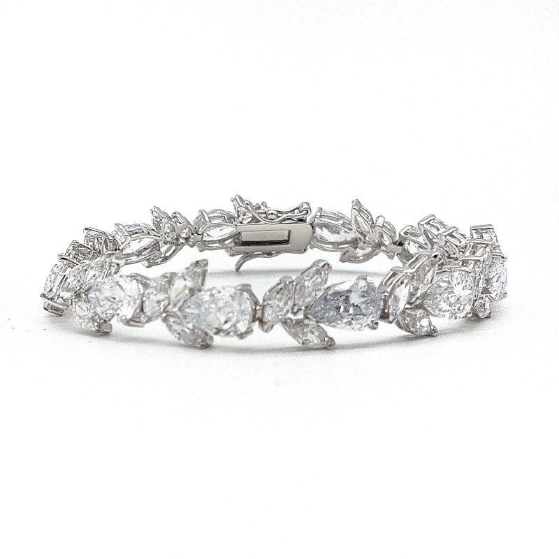 Silver Wedding Bracelet