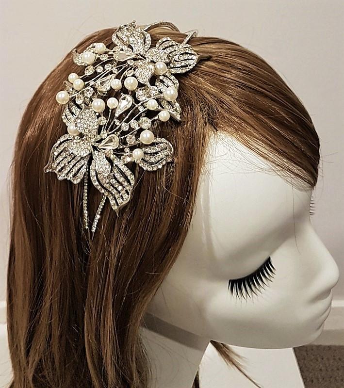 large pearl headband