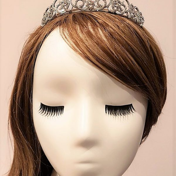 diamante bridal tiara