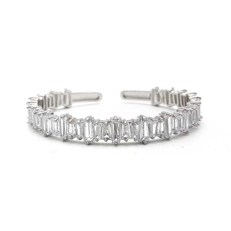 silver bridal bangle
