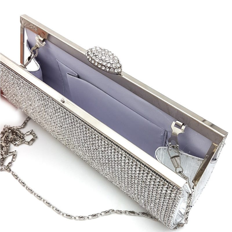 diamante bridal clutch evening bag
