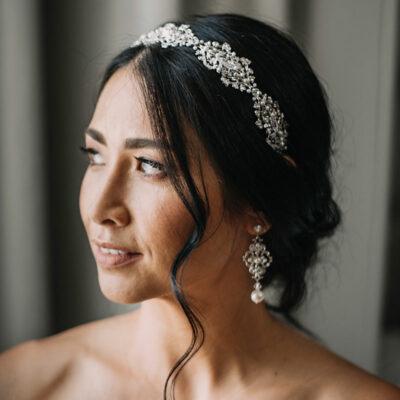 Bespoke bridal headband