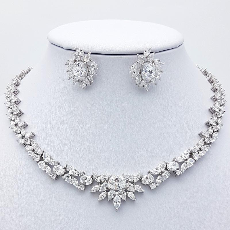 Silver Necklace Fashion Jewelry Jewelry & Watches
