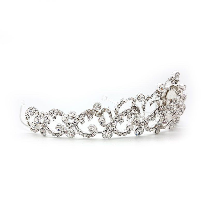 Belle silver cerystal crown - Cassidy
