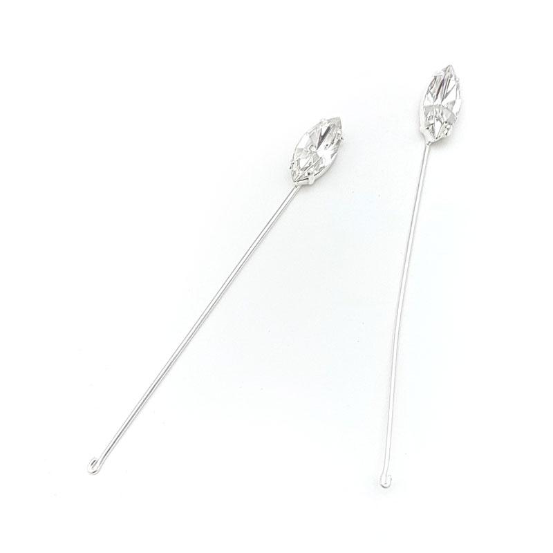 Swarovski crystal boutonnieres